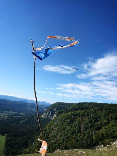 Flag on the