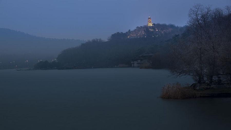 HUAWEI Photo Award: After Dark Nature Dusk Dusk View Lake Lake View Mountain Night Night View Water Waterfront