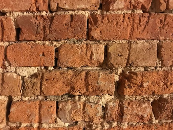 Brick Wall Wall - Building Feature Architecture Brick Built Structure Dirty Backgrounds Textured  Red Pattern Building Exterior No People Close-up Day Outdoors