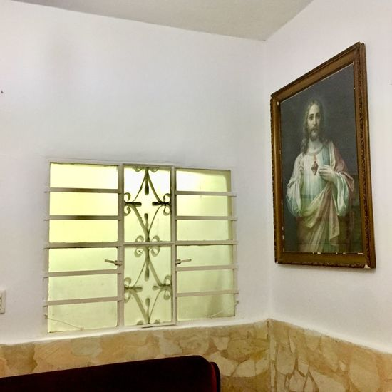 Appunti di viaggio, Cuba 2018 Indoors  Art And Craft Wall - Building Feature No People Frame Picture Frame