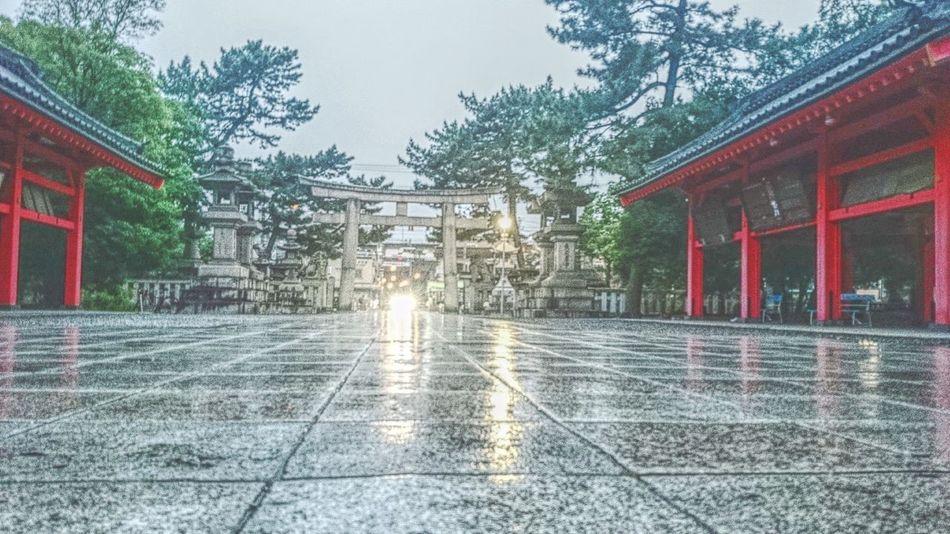 OSAKA Shrine Rany Day