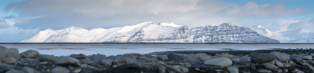 Wintertime in iceland