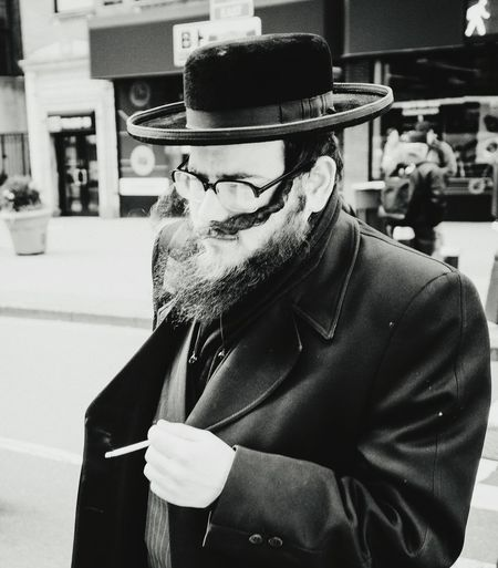 34th & 9th The Street Photographer - 2016 EyeEm Awards Nyc Streets Photography Helloicp Bw_collection Check This Out Street_capture Candid Portraits Streetphotography Everybodystreet People Watching Hikaricreative Lensculture Peopleofnyc Hasidic People Streetstyle