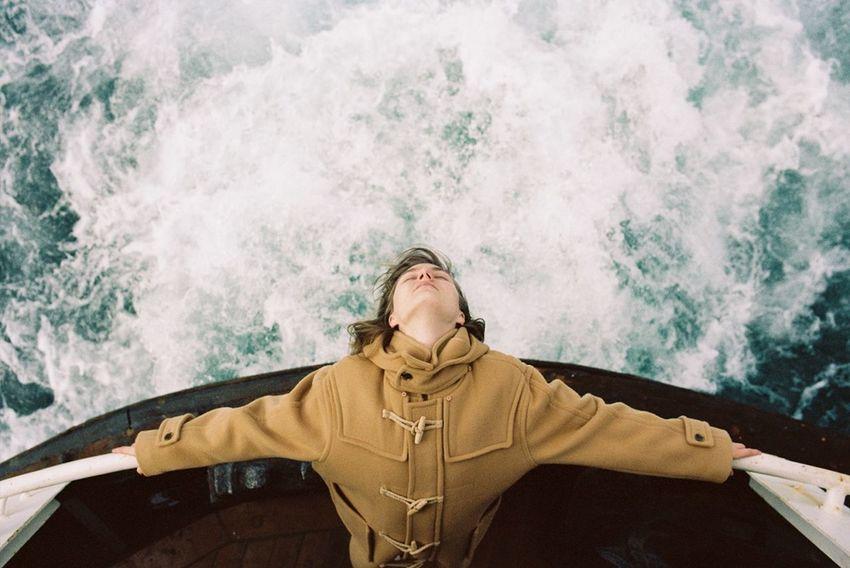 Sophie Bogdan 35mm 35mm Film Analog Analogue Photography Ferry Fine Art Fine Art Photography Portrait Sea Showcase July The Week On EyeEm Editor's Picks