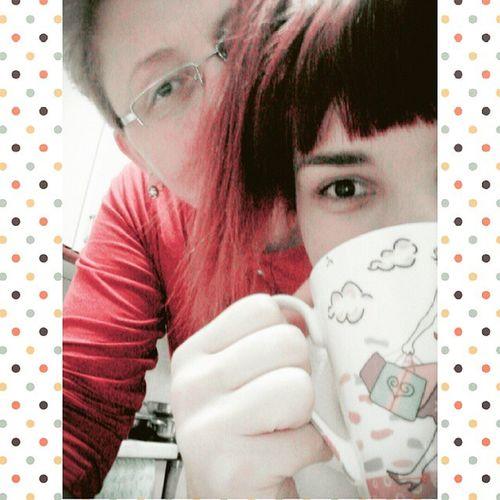With mommy ♥ Myeyesarepop LOL Red Lovemymom Mymomisthebest