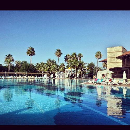 Belek Antalya Palomagridavillage Holiday l4l likes4likes bestoftheday instacool instago all_shots webstagram colorful style igers pool swim sky morning likes4likes instamoment instadaily