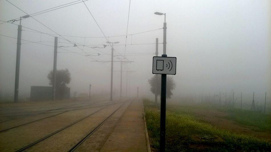 Fog Tramway Winter Taking Photos
