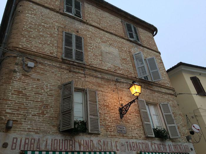 Grottammare Building Marche Italy Façade