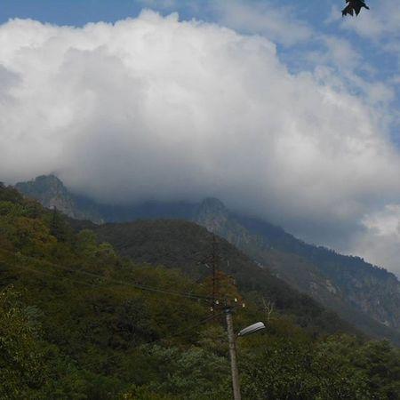 лето Едем горный облака отдых передСочи