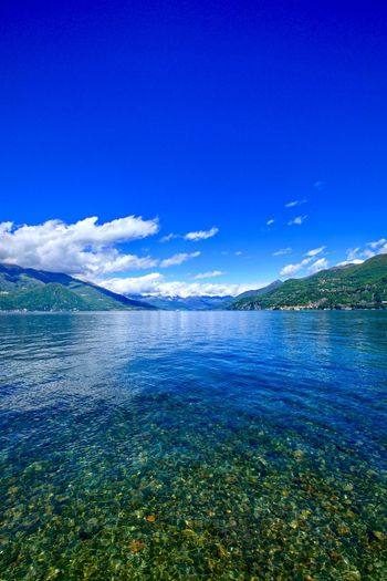 Blue Sky Water Beauty In Nature Scenics - Nature No People Nature Tranquil Scene Tranquility Waterfront