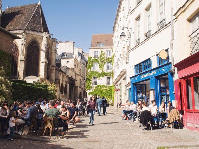 The Street Photographer - 2016 EyeEm Awards Streetphotography Eye4photography  Paris Streetphoto_color Marais Le Marais