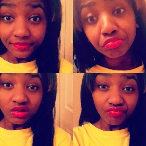 #Red #lipstick #Pretty #Gawjus #love ❤