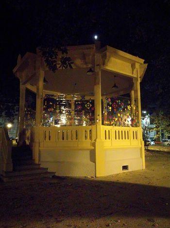 Coreto, Jardim de Arca D Água. Night Illuminated No People Outdoors Arts Culture And Entertainment Architecture Porto Portugal 🇵🇹 Porto Portugal Tranquility Building Exterior Architecture Tree Street Light