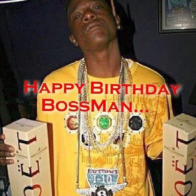 Happy Birthday Bossman BadAzz Freeboosie 4sup  TurnUp