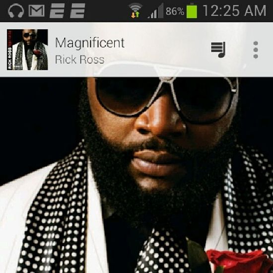 This one of the few songs i actually like from Rick Ross. Rickross Rozay Magnificent Johnlegend dope music rap hiphop jammin TagsForLikes likeforlikes googleplaymusic tweegram