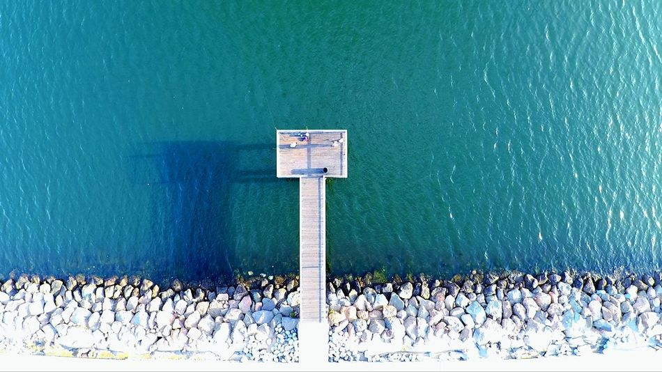 Water Sea Outdoors Birds Eye View Ocean Aerial View Dronephotography Droneshot Dronepointofview Drone Photography Long Beach, California USA  Autel High Angle View Fishing Spot Fishing