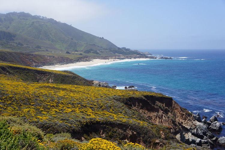 Beach Landscape Outdoors Sea