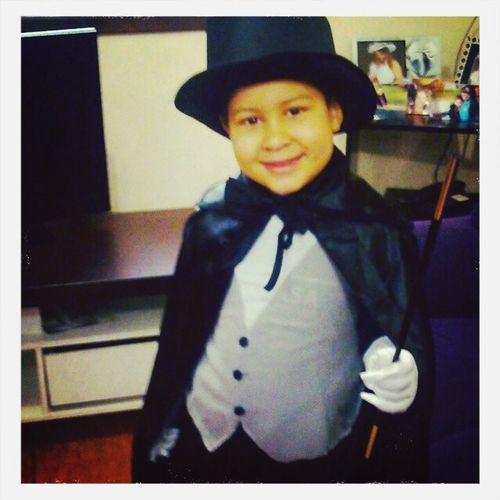 Meu pequeno mago!!!