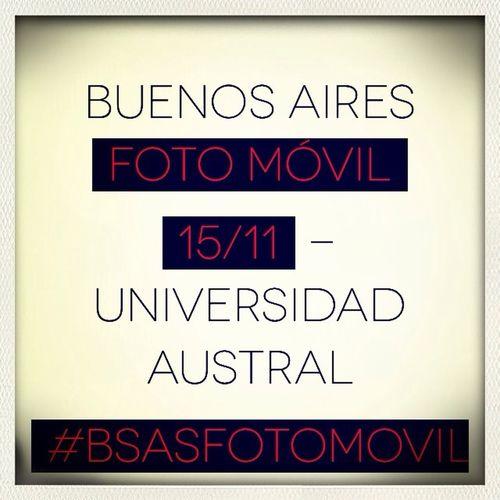 Buenos Aires Foto Movil, el primer festival de fotografía con celulares. Invitados internacionales, concurso de foto con premios y exposiciones. Entre nuestros disertantes estan: Fox, Getty Image, UCA, Yahoo, FOPEA, EyeEm, MOB Press, Camera Pro App, Infobae entre otros. 15/11 en la Universidad Austral. Inscribite en www.popckorn.com #bsasfotomovil #popckorn #igersbsas #igerslaplata #igerscbaarg #igersentrerios #igersrosario #igerspatagonia #igerspergamino #igersmendoza Buenos Aires Foto Movil Popckorn Buenosaires
