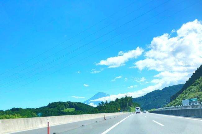 Sky Road Transportation Cloud - Sky Day Nature The Way Forward Blue Direction Mountain Street Sunlight