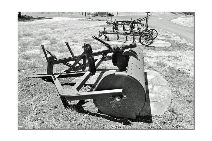 Antique Farm Machinery 3 Garin Regional Park Hayward, Ca. Artifacts Of Ranching & Farming Bnw_friday_eyeemchallenge Monochrome Orchards Apples Olives Farmlife Ranchlife Annual Garin Apple Festival Heirloom Varieties Nature Hiking Biking Horseback Riding Hiking Trails Equestrian Trails Landscape Black & White Black And White Photography Black And White Black And White Collection  Panoramic Views Of Hayward Antique Farm Machinery
