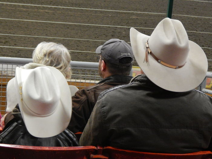 rodeo Adult Adults Only Bonding Bull Riding/rodeo Child Cowboy Hat Day Father Father And Son Fatherhood Moments Food Hell On Hooves Hood - Clothing Indoors  Matching Men Parenting People Real People Rodeo Sitting Son Togetherness Two People Uniqueness EyeEmNewHere Lieblingsteil