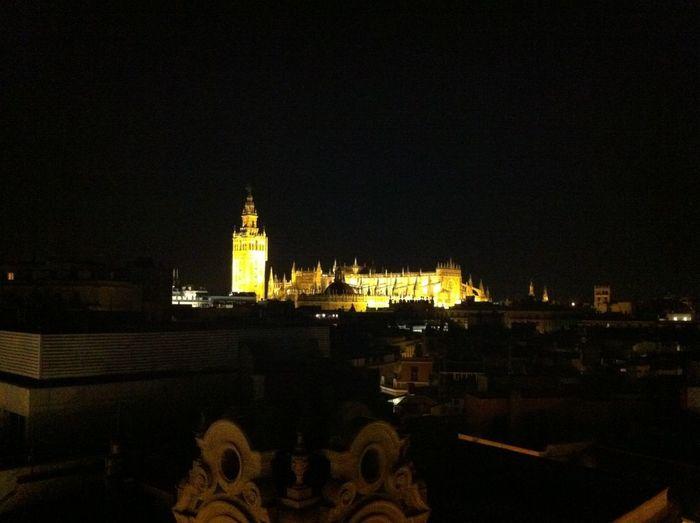 Catedral+Giralda by night #sevilla
