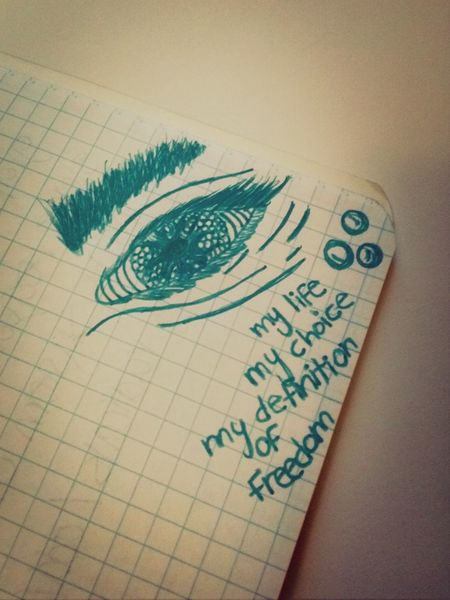 Freedom Eye Sketch