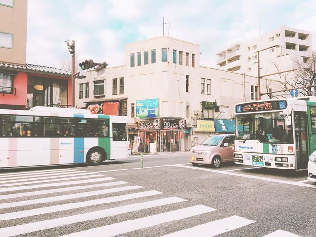 City Street Building Exterior Architecture Built Structure Men One Person Hakata Fukuoka Japan Sky Real People Outdoors Mode Of Transport Land Vehicle Day Women Road Adults Only Adult People Only Men