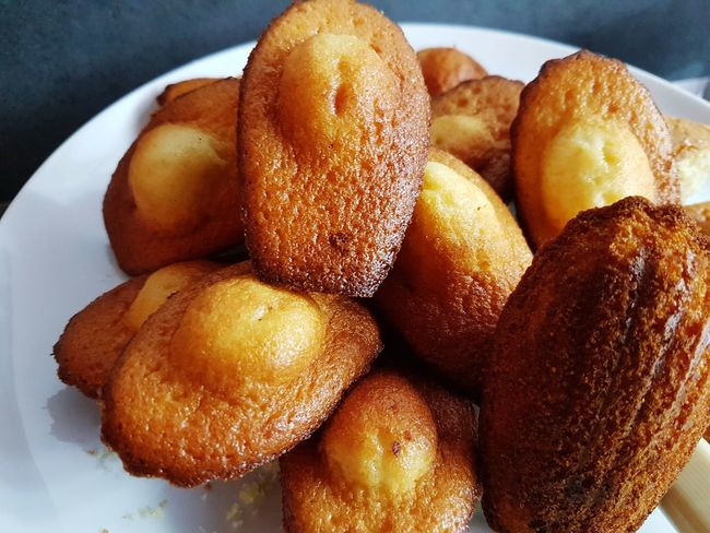 Madeleine Madeleines Sweet Food Sweets France France Food Proust Healthy Lifestyle Close-up Food And Drink Pastry Temptation