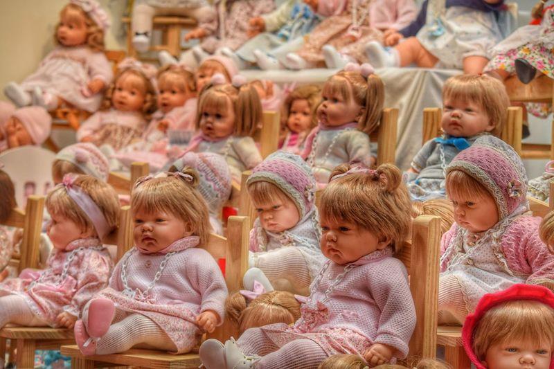 The Portraitist - 2017 EyeEm Awards Dolls Babies Portrait Girls Group Emitions Indoor