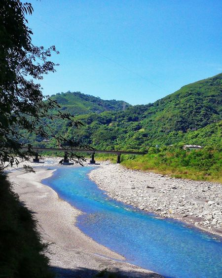 Nature Water Outdoors Blue Day Beauty In Nature Tree No People Mountain Sky Scenics Clear Sky