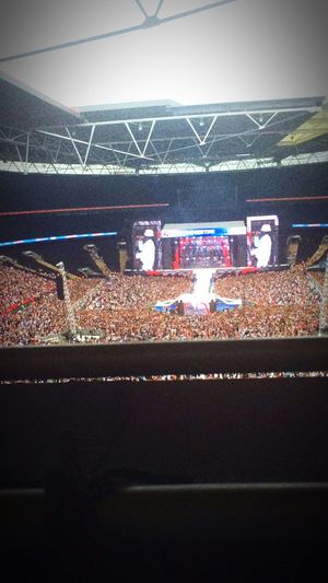 Stadium Indoors  Crowd Large Group Of People Fan - Enthusiast Day Boxing Ring People