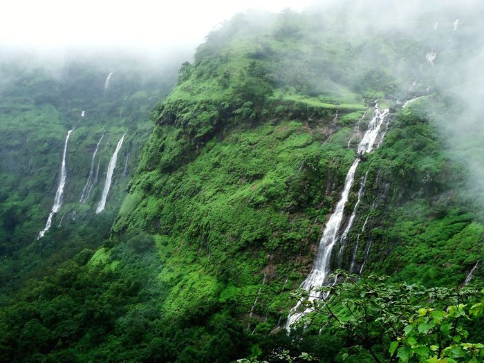 Fog Nature Day Outdoors Beauty In Nature Water No People Nature Photography India Freshness Beauty In Nature Sky Scenics Maharashtra Raigad Greenery Rain Monsoon Pleasent Mountain