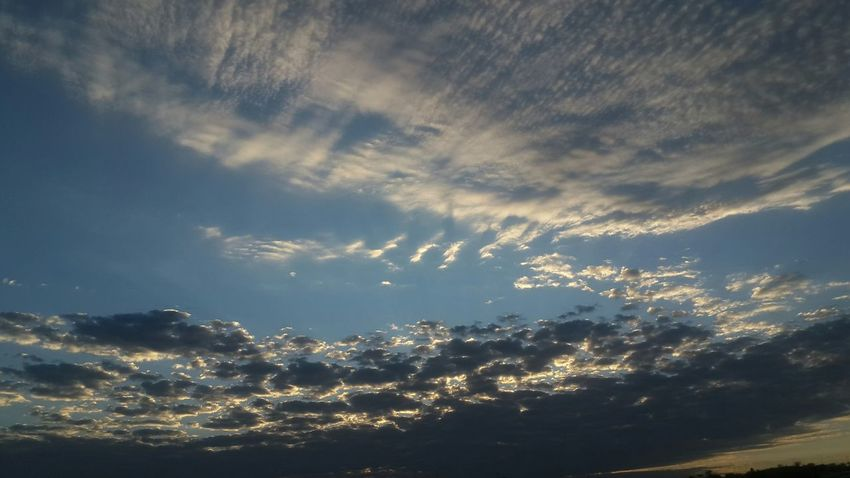 Cloudy Namibia Windhoek Juikk Clouds Sunrise