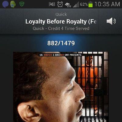 Myshit @quickbadazz225 Loyalty before Royalty Freeboosie &Quick FreeBoosieFriday