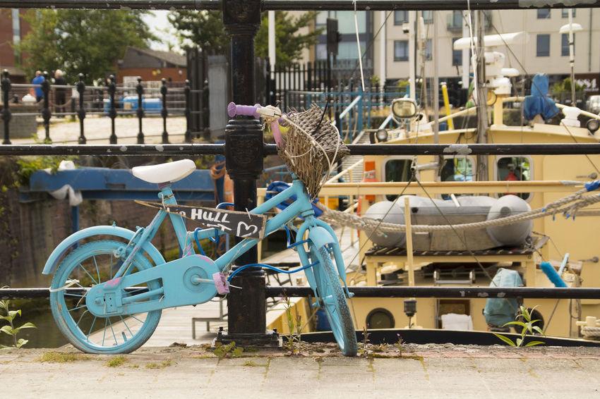 City Close-up Cycle Day Hull Hull 2017 Hull City Of Culture 2017 Hull Marina Hull2017 Land Vehicle Mode Of Transport No People Outdoors Transportation