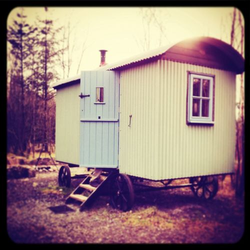 in the Lake District in a shepherds hut Lakedistrict Glamping TheGreatOutdoors Enjoying Life