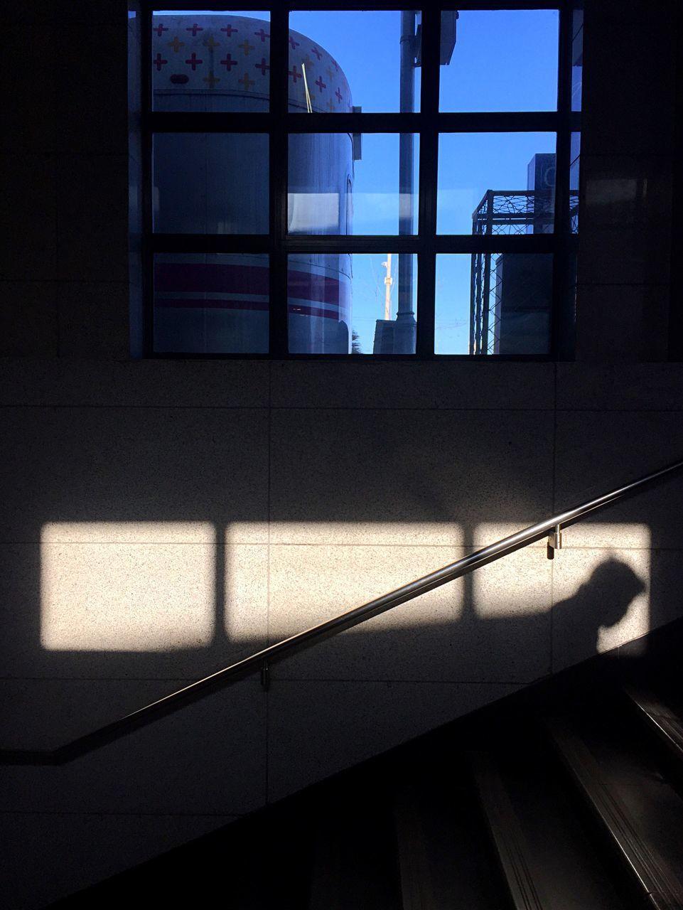 Sunlight Falling On Wall