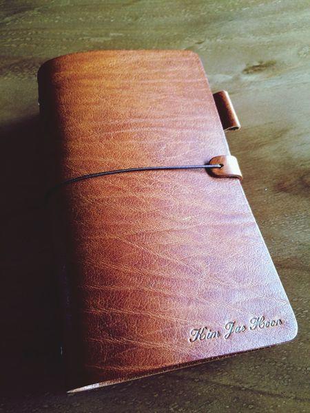 Hevitz Hevitz... System Diary CEO Italia Designed Bull Leather, 굵은 주름이 있는 다이어리(CEO) - 한정판