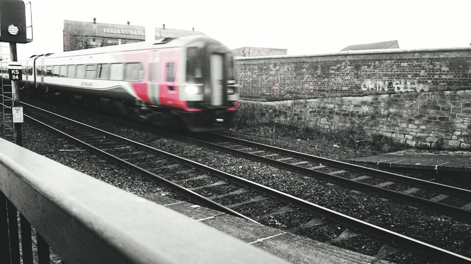 Train Station Traveling Travel Train Tracks Train Red Black & White Black And White Check This Out Taking Photos April Showcase April 2016 Editting Photo Editing EyeEm Best Shots EyeEm Gallery Eye4photography  EyeEm EyeEmBestPics EyeEm Best Edits EyeEm Best Shots - Black + White Showcase April