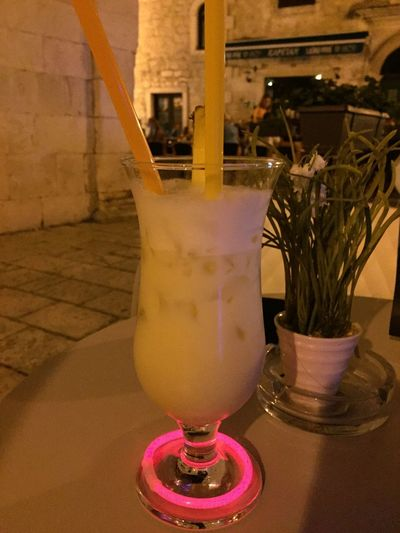 Drink Drinking Drinks Cocktails Night Summer Showcase August Cocktail Cocktail Time Enjoying Life Croatia Night Lights Omis Omis Croatia Old Buildings Old Town