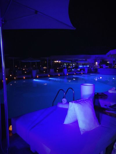 Party Lounge Chilling Swimming Pool Great Atmosphere Eye4photography  Night Nightphotography Night Photography Music