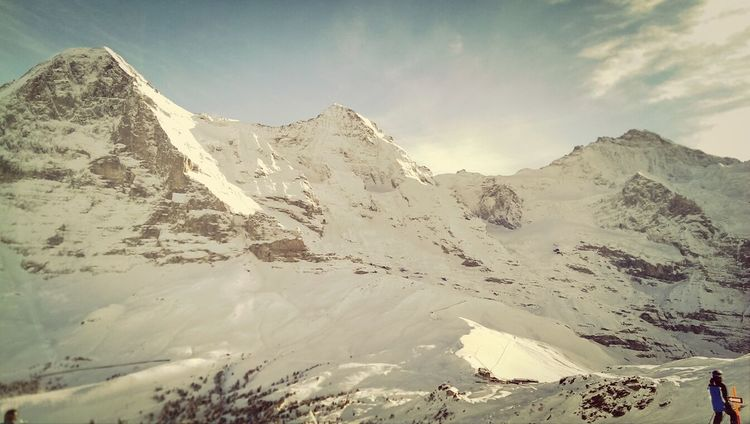 Mountains What I Want To Shoot With A 360 Panono Camera Winter White By CanvasPop Skiing