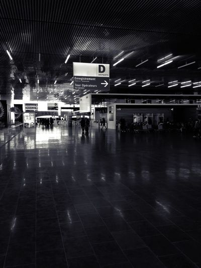 Blackandwhite Black And White at At The Airport Check This Out