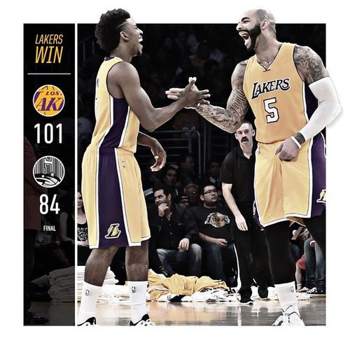 My niccas doin history... LakerianTilliDie LALakers LakersWin Winners NuffSaid wMg