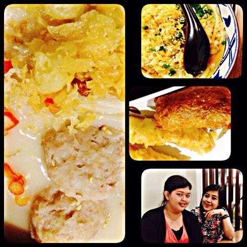 Tori Baitong Udon vs Kake Udon
