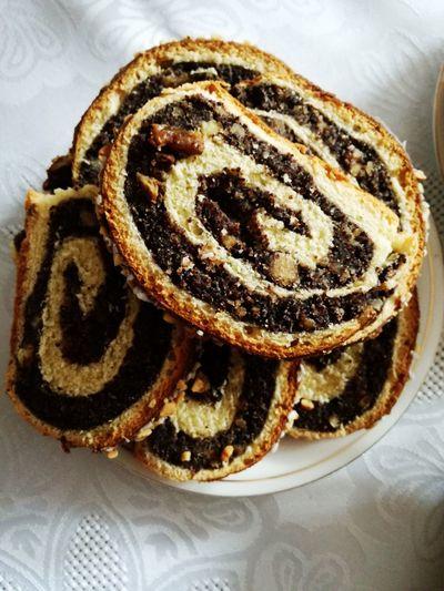 Sweet Food Dessert Sweet Pie Homemade Cake Food Ready-to-eat Baked No People Poppy Seed Cake