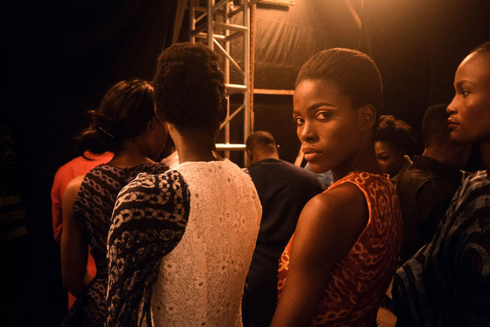Ade Bakare Couture at the African Fashion and Design Week. Fashion Portrait People