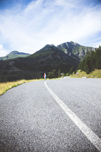 Lost Observation Pyrenees Shoulder Travel Adventure Andorra Asphalt Beauty In Nature Firs Highway Landscape Mountain Mountain Range Nature Outdoors Pine Trees Road Roadway Sky Texture The Way Forward Tourism Valley Vertigo